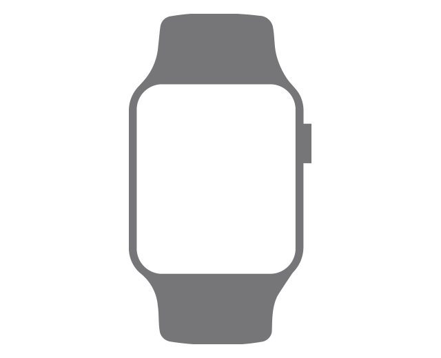 For sale - Refurbished Apple Watch Series 5 GPS, 44mm Silver Aluminum Case with White Sport Band