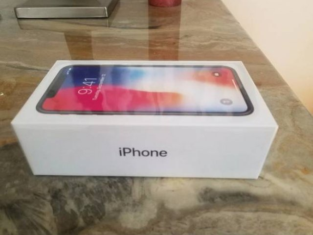 Brand New Sealed Apple iPhone X 256GB