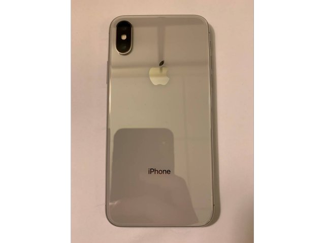 iPhone X Silver Sim-Free 256gb Great Condition