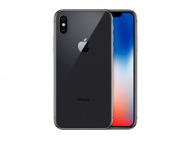 For sale - Refurbished iPhone X 64GB - Space Gray (Unlocked)