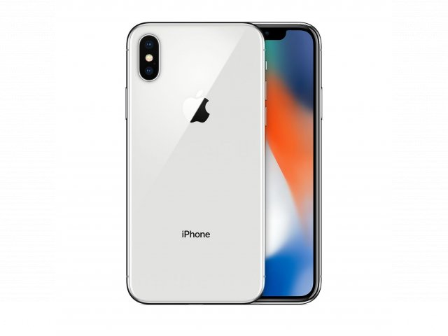 For sale - Refurbished iPhone X 64GB - Silver (Unlocked)