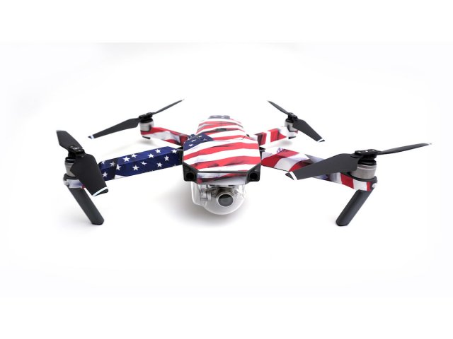 MightySkins Mavic Pro Skins (Patriot)