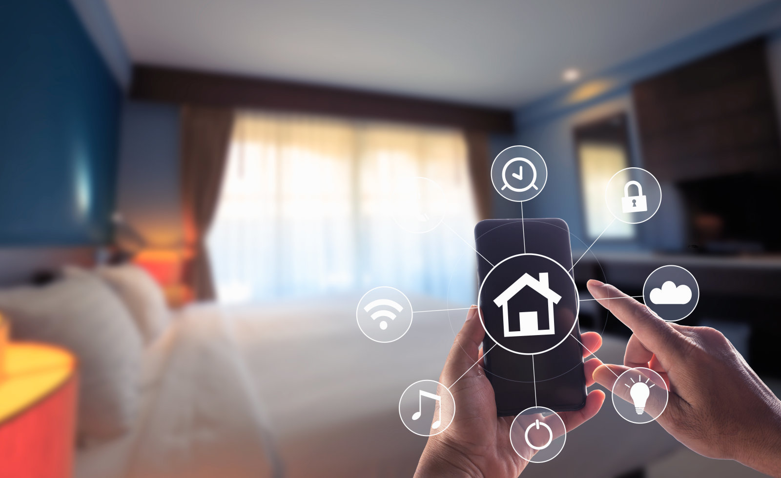 Can smart homes be infected with viruses?