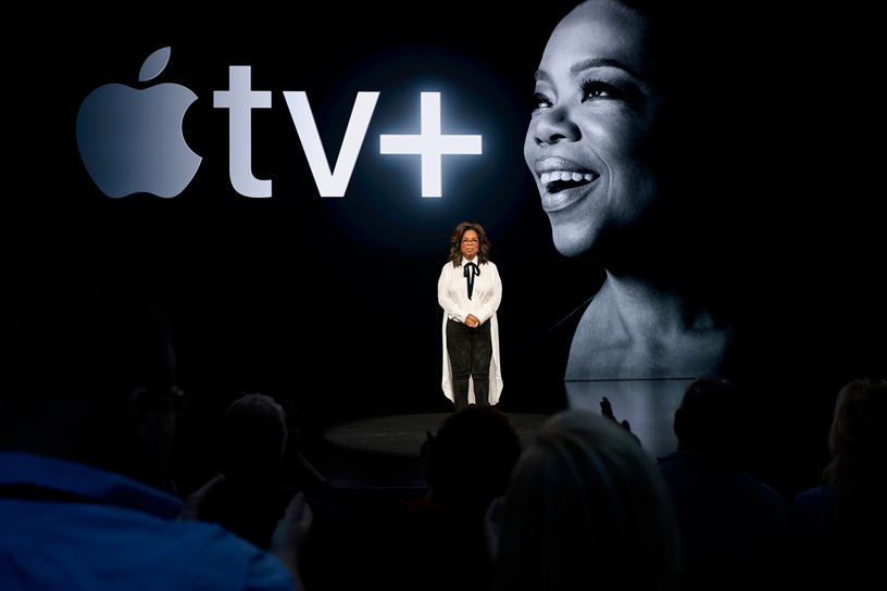 Oprah's Book Club begins a new chapter with Apple