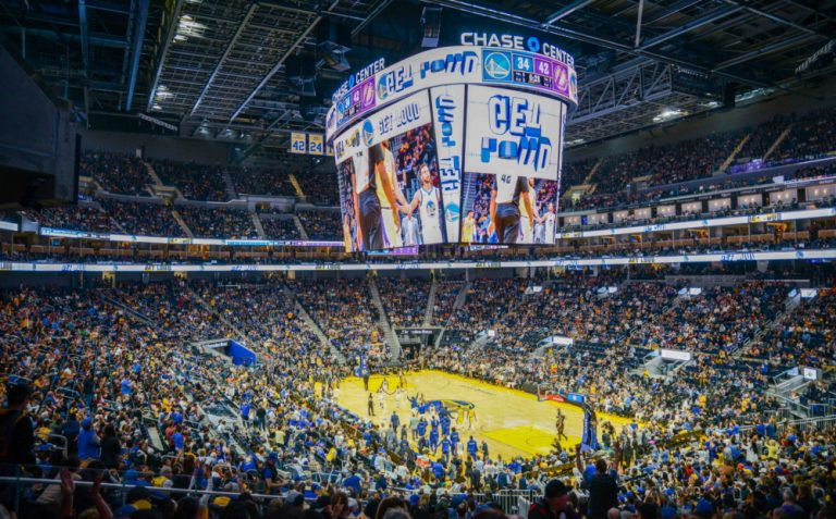 Chase Center Gets NBA's Largest Centerhung LED Scoreboard…