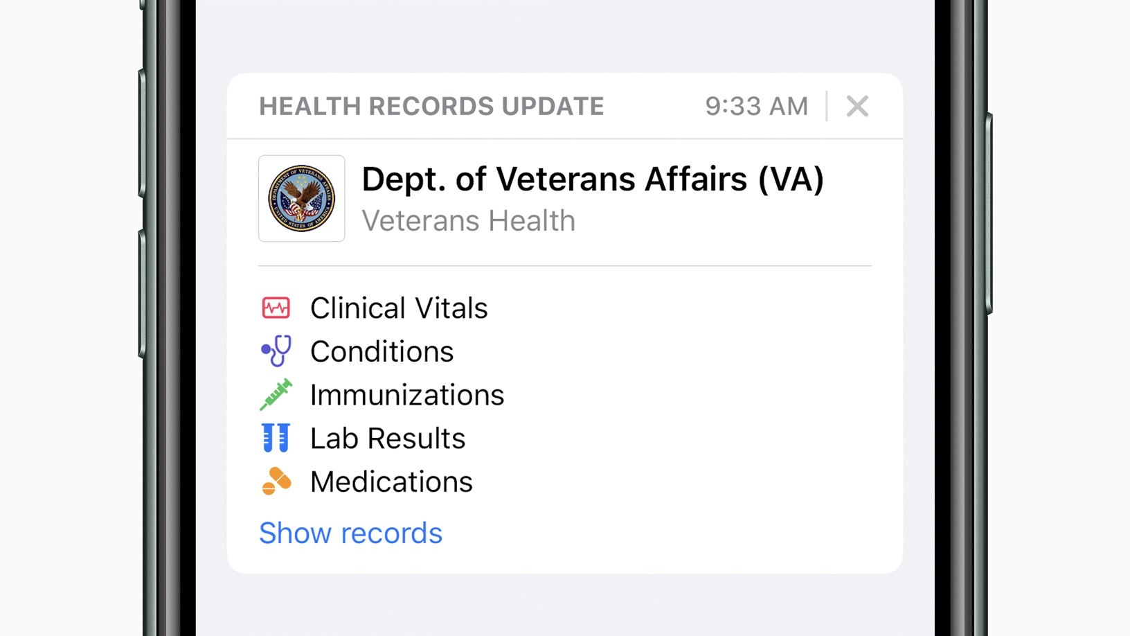 Apple Health Records now available to veterans across the US