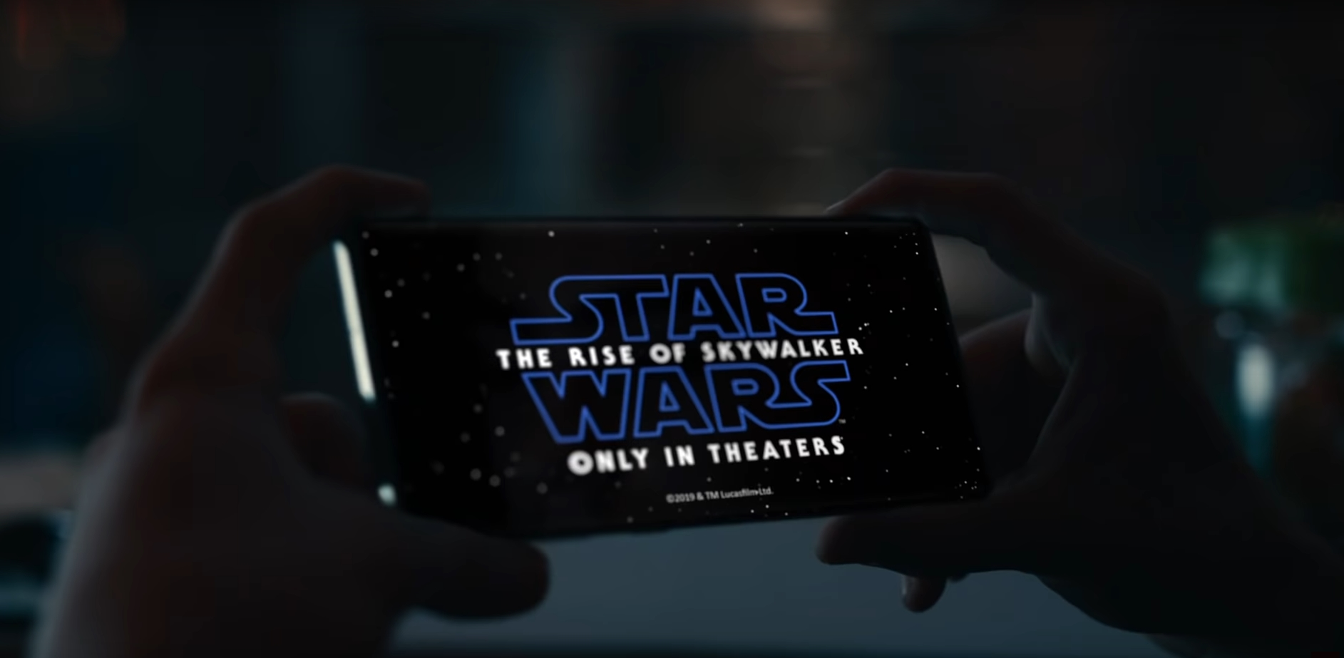 Samsung starts its collaboration with Lucasfilm in advence of the theatrical release of Star Wars: The Rise of Skywalker