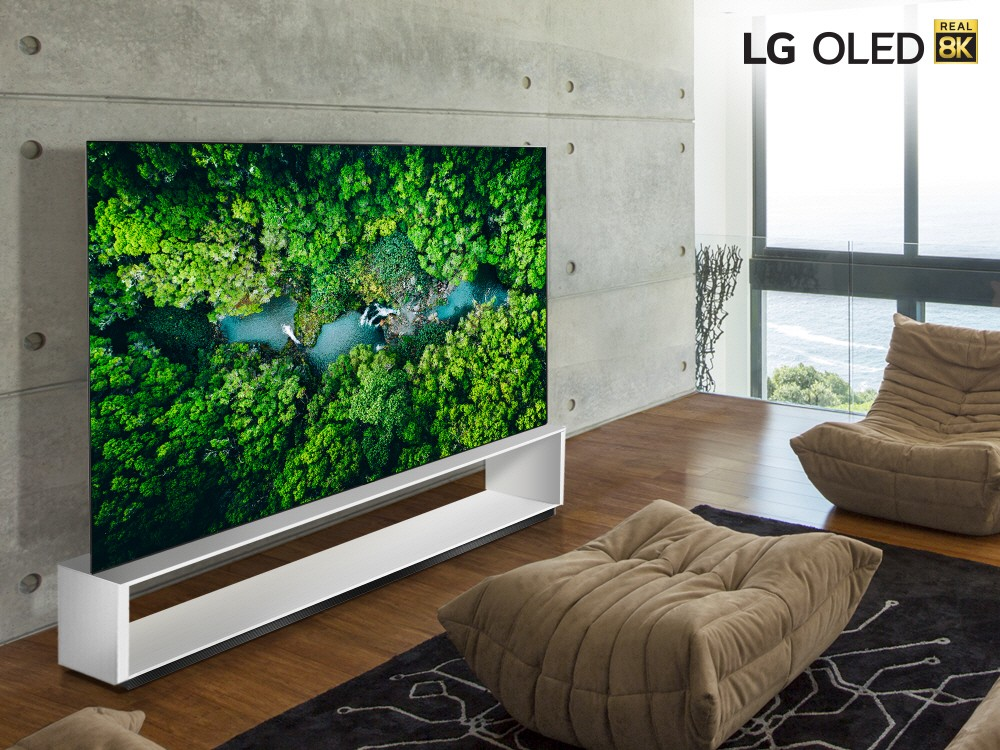 LG unleashes 'Real 8K' TV lineup before CES 2020