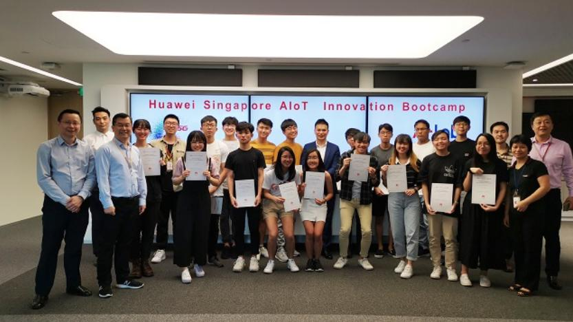 Huawei Launches its First Overseas AIoT Innovation Bootcamp
