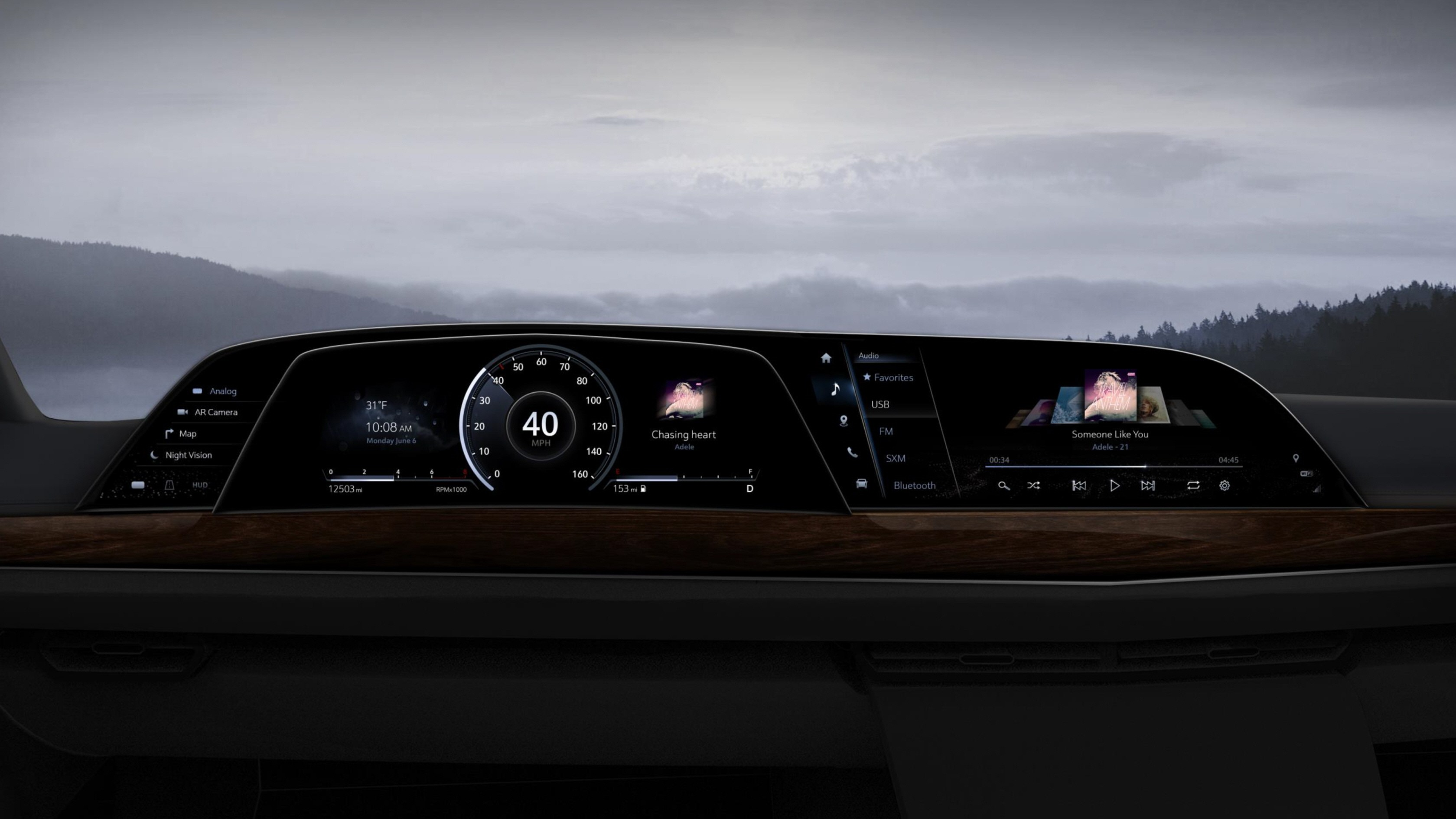 P-OLED cockpit from LG debuts in new 2021 Cadillac Escalade