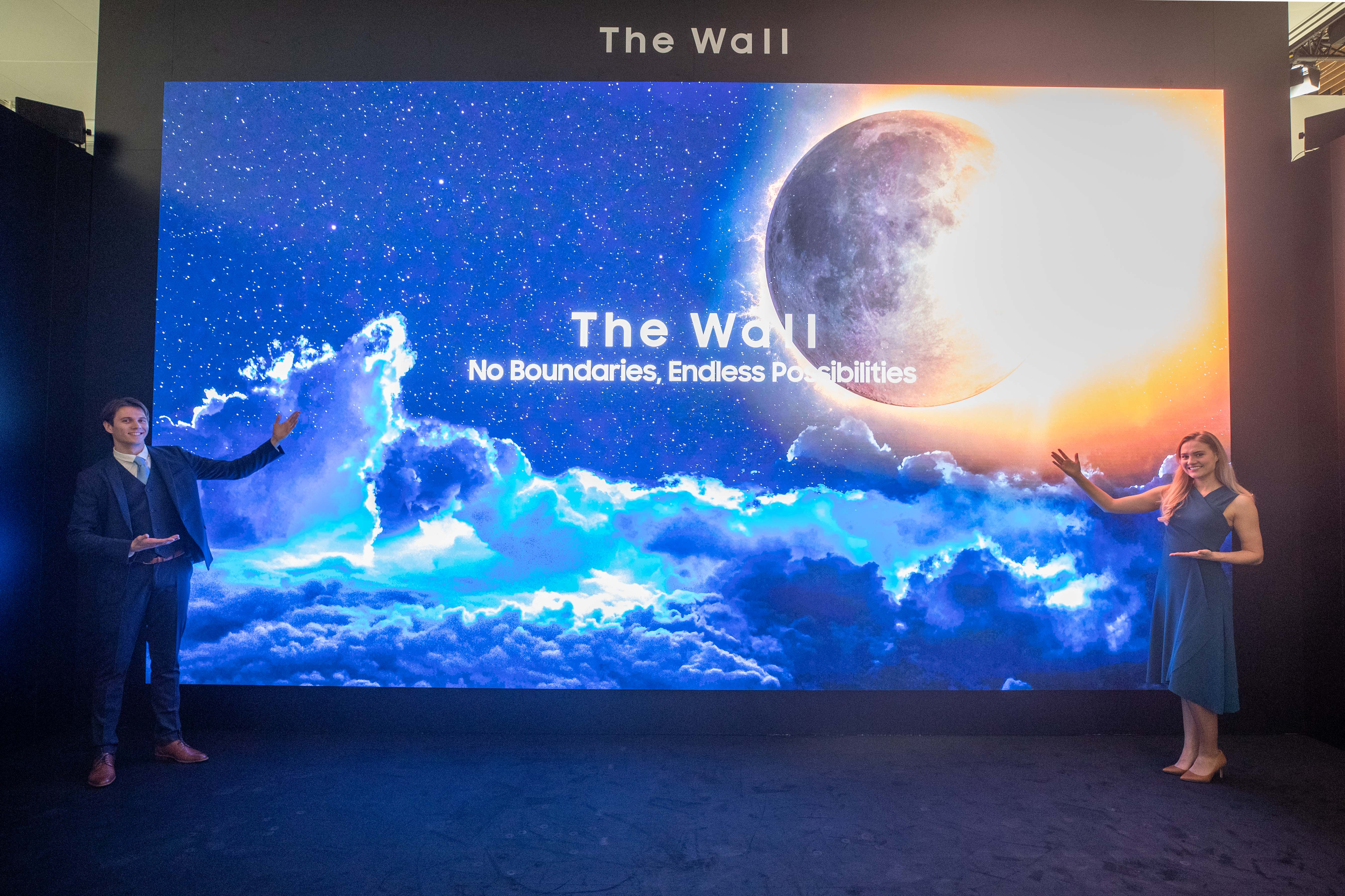 Samsung shows off The Wall for Business and more ahead of ISE 2020