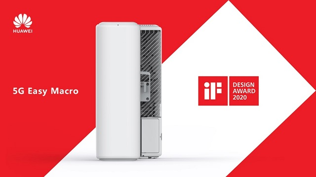 Huawei 5G Easy Macro Wins the iF DESIGN AWARD