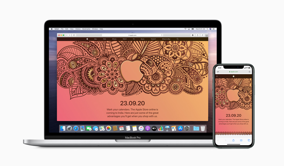 Apple brings online store to India September 23