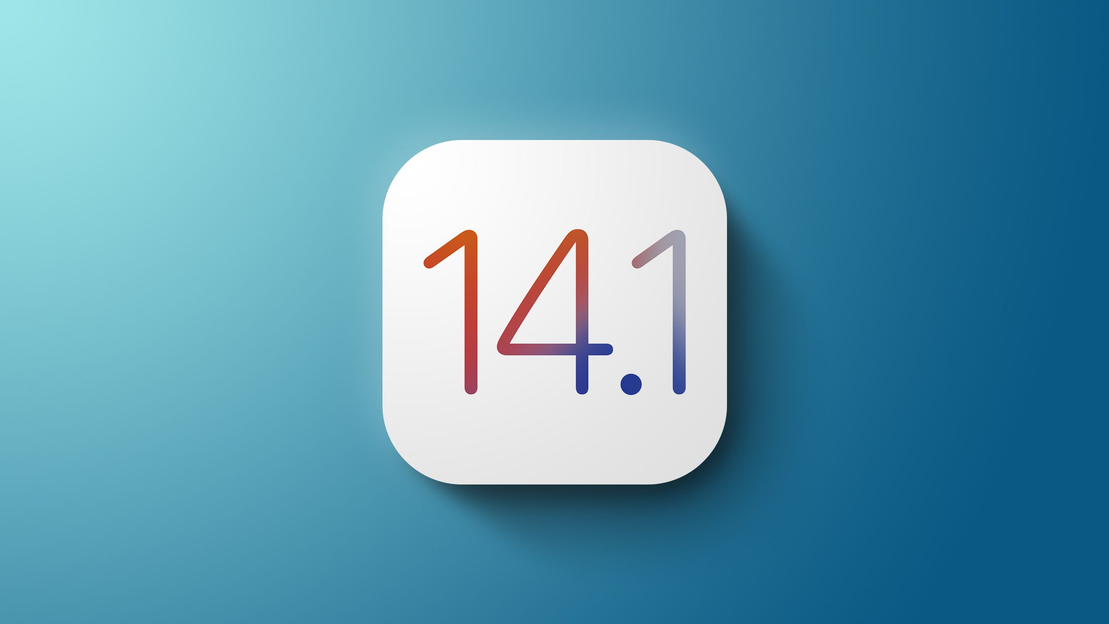 iOS 14.1 has Arrived - Go to Software Update menu