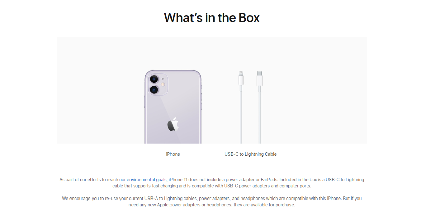 Breaking: you won't be getting wall adapters and headphones with any new iPhone!