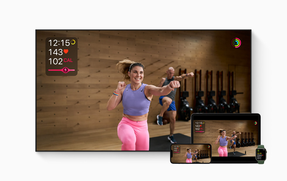 Apple Fitness+ welcomes people at every fitness level to train their bodies and minds with Meditation and new workouts available September 27