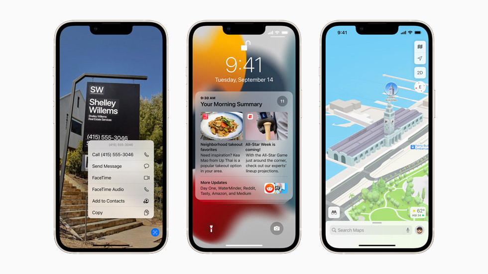 iOS 15 is available today